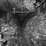 Libri e giornali alluvionati nei magazzini della BNCF