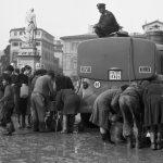 Piazza Santa Croce. Firenze 1966