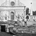 Piazza Santa Maria Novella. Firenze 1966