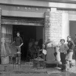 Danni ai negozi. Firenze 1966