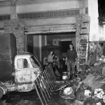 Danni ai negozi e alle abitazioni. Firenze 1966