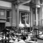 Sala lettura, laboratorio di restauro dei libri della BNCF
