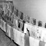 Asciugatura di stampe alluvionate nella BNCF