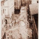 Via Strozzi, Palazzo Strozzi. Firenze 1966