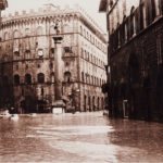Piazza Santa Trinita. Firenze 1966