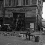 I danni dell'alluvione. Firenze 1966