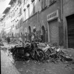 Danni dell'alluvione. Firenze 1966