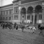Piazza dei Cavalleggeri, BNCF. Firenze 1966