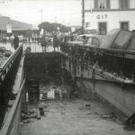 Sottopassaggio alluvionato. Firenze 1966