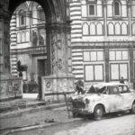 Loggia del Bigallo. Alluvione Firenze 1966