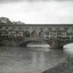 Ponte Vecchio. Alluvione Firenze 1966