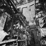 Carte d'archivio alluvionate nei magazzini della BNCF